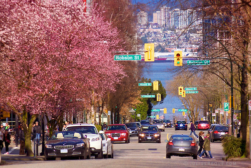 Today in Vancouver: The city springs into Spring!