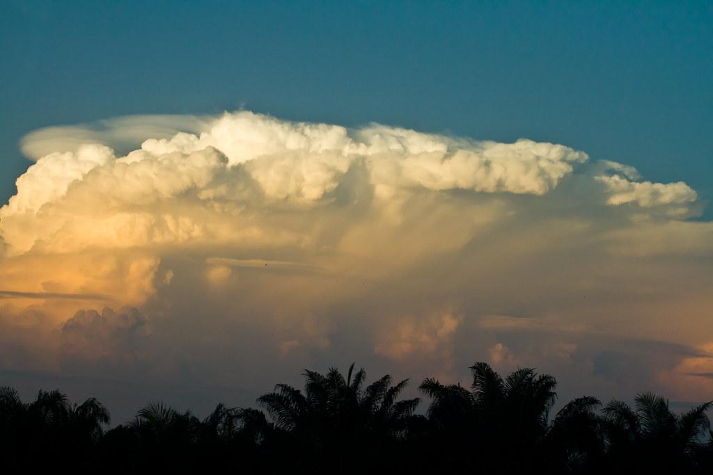 Big clouds in Kuala Lumpur