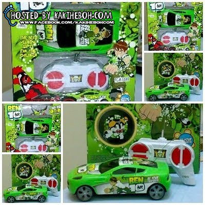 ben 10 remote controlled car