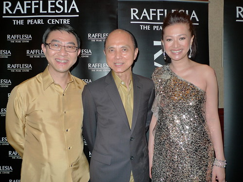 Sin Cheang Loong, Dato' Jimmy Choo and Winnie Sin