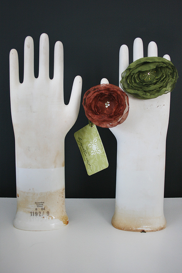 Ceramic Glove Molds