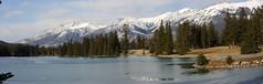 Jasper National Park, Alberta (Joan Tanner) Tags: panorama canada mountains nature landscape scenery alberta jaspernationalpark canadianrockies lacbeauvert