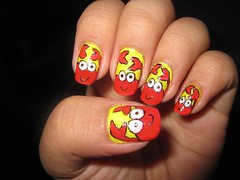 nail art design crab (katikuykuy) Tags: animal crab nails nailart wateranimal nailartdesign simplenailart cutenailart beautifulnailart animalnailart animalnailartdesign prettynailart uniquenailart crabnailart crabnailartdesign wateranimalnailartdesign katikuykuysnails