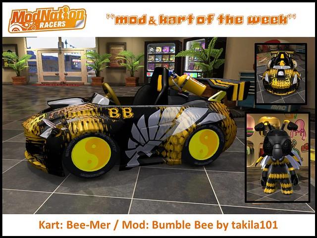 ModNation Racers Mod & Kart of the Week: bee