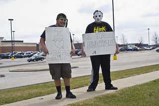 Anti-Torture Vigil - Week 42: Mock Protesters