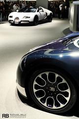 Bugatti Veyron Grand Sport (Raphal Belly Photography) Tags: auto show blue white sport de switzerland automobile suisse geneva geneve grand exhibition salon motor carbon ge bugatti genve ch motorshow veyron palexpo carbone 2011 lauto