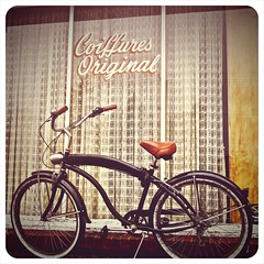 Urban cruising () Tags: tacoma lakewood washington state beach cruiser bicycle bike 253 pacific northwest gritty abandoned building brick interesting puget sound street urban view neighborhood local great recession recreation tourism photograph picture photo photography classic retro window sign empty seattlest coiffures original beachcruiser usa united states america americana store shop