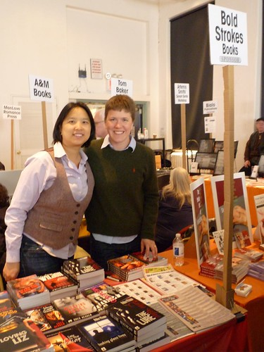 Trinity Tam & Nell Stark @ Rainbow Book Fair