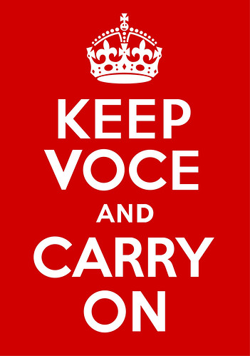 Keep Voce and Carry On