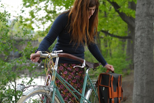 Royal H. Mixte, Cristobal &Co Custom Pannier