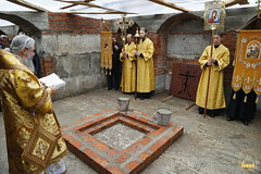 87. The Laying of the Foundation Stone of the Church of Saints Cyril and Methodius / Закладка храма святых Мефодия и Кирилла 09.10.2016