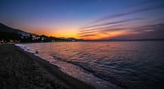 Gregliomano Sun Up (Andy.Gocher) Tags: andygocher canon100d europe greece gregliomano clubmed sunrise beach hotel sea water aegean ngc