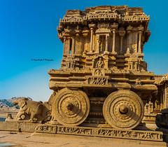 Chariot of ruins (magicallights) Tags: chariot vittalatemple hampi unescoworldheritagecentre worldheritage heritage india incredibleindia southindia ruins history historical hindu hinduisim