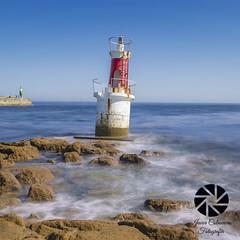 Farolillo S. Vicente  de la Barquera (Javier Colmenero) Tags: sea marcantbrico cantabriansea longexposure largaexposicin cantabria sanvicentedelabarquera lighthouse nikon nikond3100 sigma1020mm agua water paisaje landscape