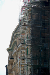 scaffolding, scaffold, superior scaffold, 215 743-2200, philadelphia, pa, de, md, nj, new jersesy, shoring, renovation, masonry, construction, divine lorraine, 017 (Superior Scaffold) Tags: scaffolding scaffold rental rent rents 2157432200 scaffoldingrentals construction ladders equipmentrental swings swingstaging stages suspended shoring mastclimber workplatforms hoist hoists subcontractor gc scaffoldingphiladelphia scaffoldpa phila overheadprotection canopy sidewalk shed buildingmaterials nj de md ny renting leasing inspection generalcontractor masonry superiorscaffold electrical hvac usa national safety contractor best top top10 electric trashchute debris chutes divinelorraine netting