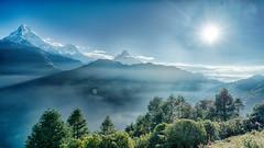 Nepal, Annapurna 2016 DSC04906 Date (Month DD, YYYY)-Edit_HDR.jpg (Rayne Chew) Tags: view massifs nature himalaya camp beauty 2016 base kampung annappurna nepal trekking ridge green remote peak mountains valley