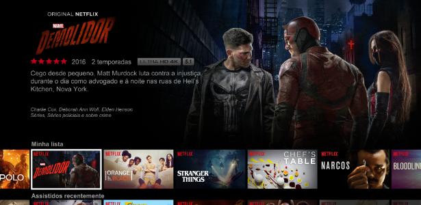 Brasil fica entre os dez piores países em índice de conexão da Netflix