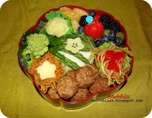 Vegetarian bento - 26.01.2011