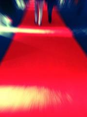 Feel like a star. (Sascha Unger) Tags: light red people urban berlin rot art kreuzberg germany carpet licht angle legs centre perspective center menschen event sascha photostudio passage veranstaltung mitte perspektive redcarpet teppich iphone roterteppich coolfx focallab fxphotostudio sascha2010 saschaunger