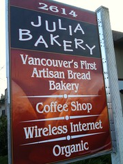 Julia Bakery in Vancouver WA