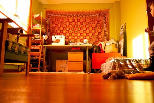 sewing room (now) / habitación de coser (ahora)