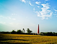 Ricebarn (Vivek Rajendran Photography) Tags: blue light summer sky india holiday color green art nature clouds landscape photo asia flickr village picture explore shore finepix fujifilm incredible tamilnadu trichy s2500hd fujifilmfinepixs2500hd