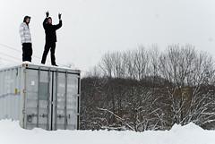 Conor McCue & Sean Murtha (billycox) Tags: snow hail snowboarding nikon 4 hill sean satan cox billy satin conor mccue murtha s8n sk8n
