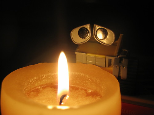 Wall-E, the romantic
