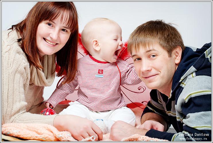 семейный и свадебный фотограф Данилова Светлана | www.fotohappy.ru