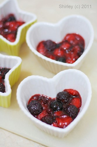 Berries in Ramekin