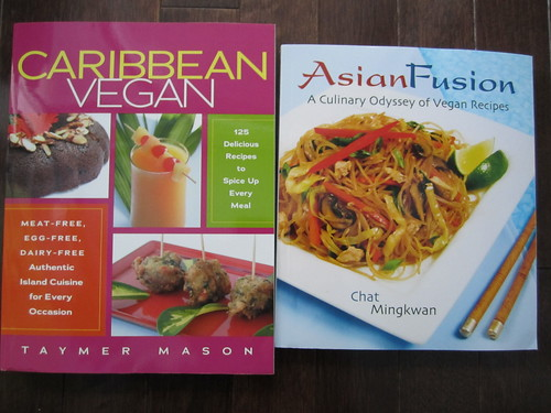 Caribbean Vegan and Asian Fusion Vegan Cookbooks