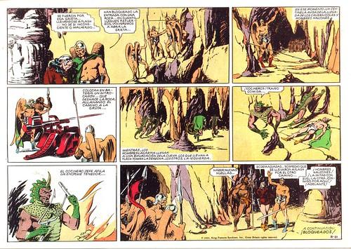 005-Flash Gordon nº 3-Tebeos S.A-reedicion 1988-pagina 1ª