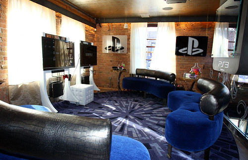 A general view of atmosphere at the PlayStation Green Room at Silver on January 21, 2011 in Park City, Utah.