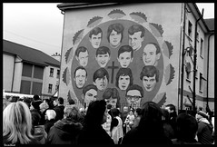 Bloody Sunday March Jan 30th 2011 (Suzi Sue Images) Tags: people irish history march remember united sunday northernireland bloody derry gerryadams bloodysunday thetroubles january2011