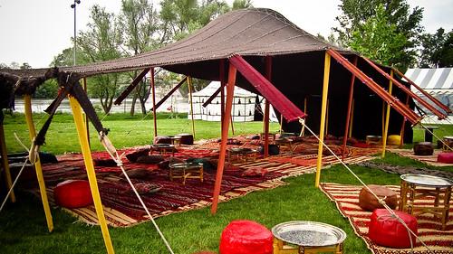 Location tente Khaima traditionnelle Berbère Marocaine