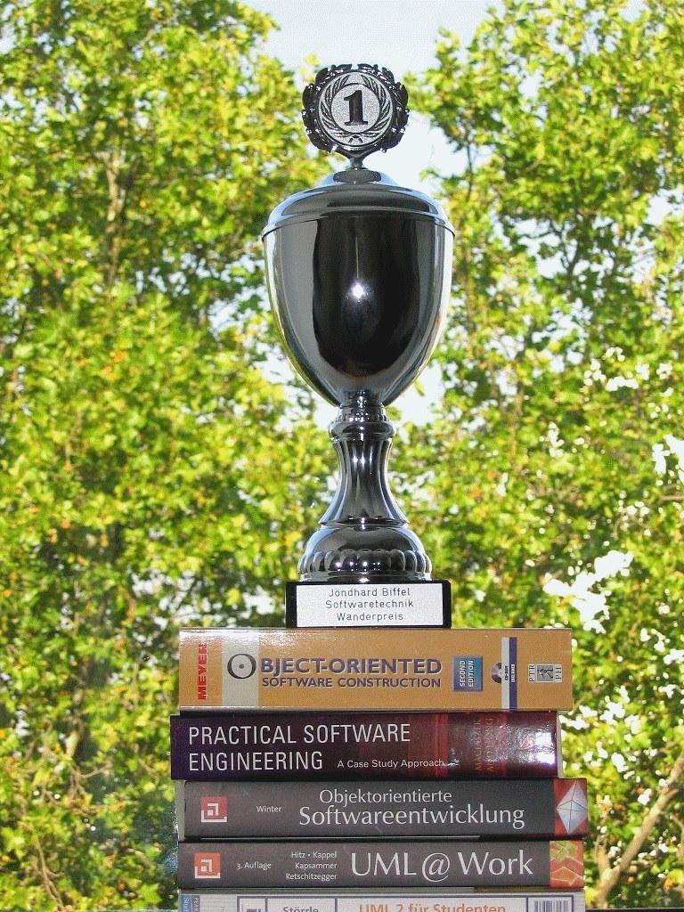 Jöndhard Biffel Softwaretechnik Wanderpreis in der Medieninformatik
