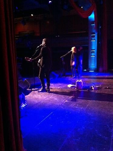 backstage w/ jay & bea