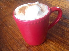 Whipped Cream, Hot Chococlate, Cinnamon (rene_tsp) Tags: hot chocolate mug m853
