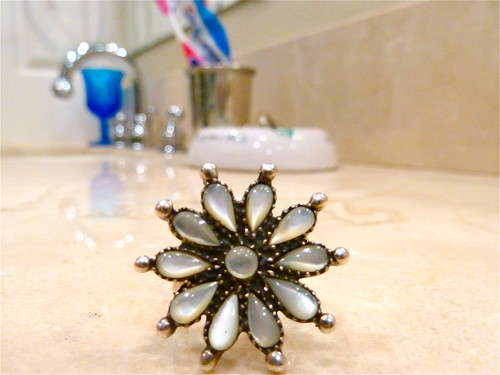 Sunflower ring from France