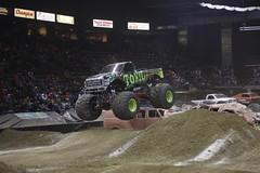 (andrusdevelopment) Tags: toxic monster center event trucks budweiser