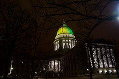 Wisconsin State Capitol (J_Knipper) Tags: building green yellow wisconsin gold nikon state packers capitol madison greenbay wi d7000 mygearandme
