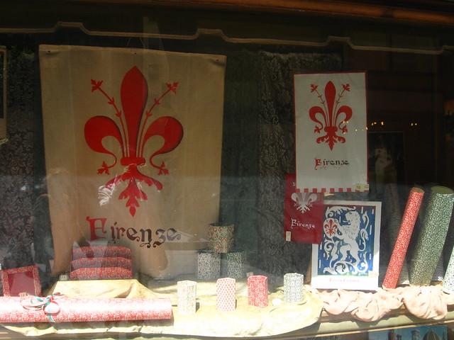 フィレンツェのマークのフリー写真素材