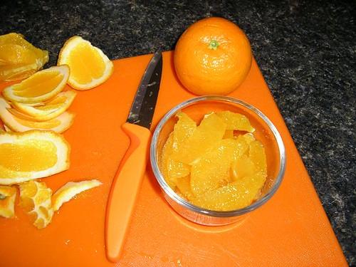 Making orange supremes 2