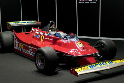L9771073 Motor Show Festival. Ferrari 312 T5 (1980) Gilles Villeneuve