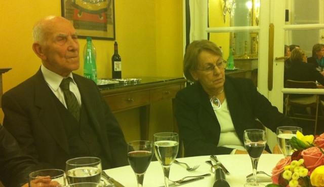 Repas avec Stephane Hessel et Marylise Lebranchu