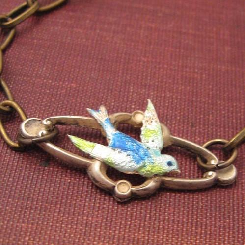 Blue Birdie Bracelet