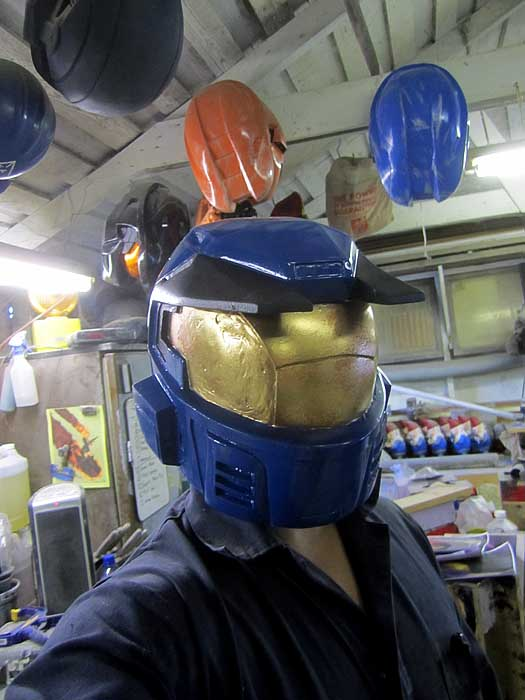 Caboose Helmet Prototype finished 2