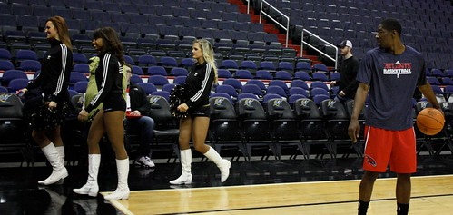 washington wizards, atlanta hawks, nba, february 5th, 2011, truth about it, adam mcginnis, cheerleaders
