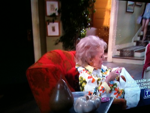Betty White using Tulip Glam-it-up Heat Tool