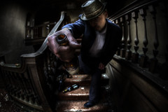 poison :: (andre govia.) Tags: building abandoned strange hat drunk buildings hospital photo bottle closed wine photos decay ghost andre haunted creepy offer explore trespass horror ghosts sanatorium left explorers decaying ue hospitals asylums govia bext andregovia